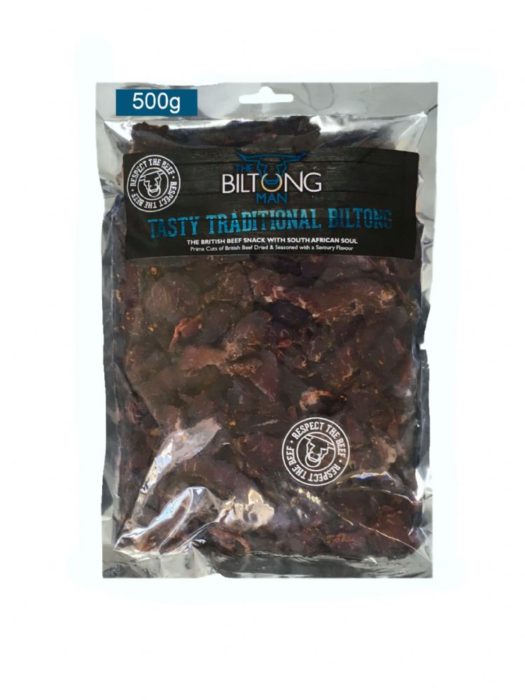 LEAN - Traditional Biltong 500g